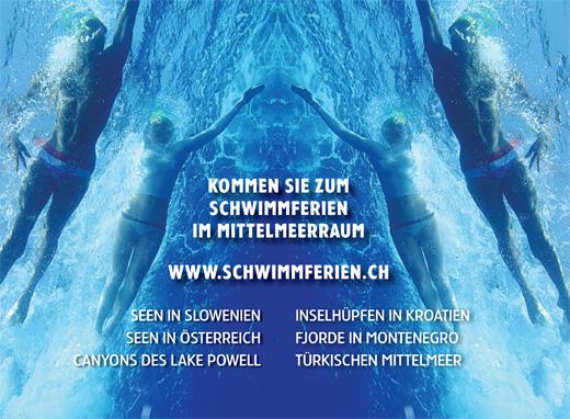 Schwimmferien Broschüre
